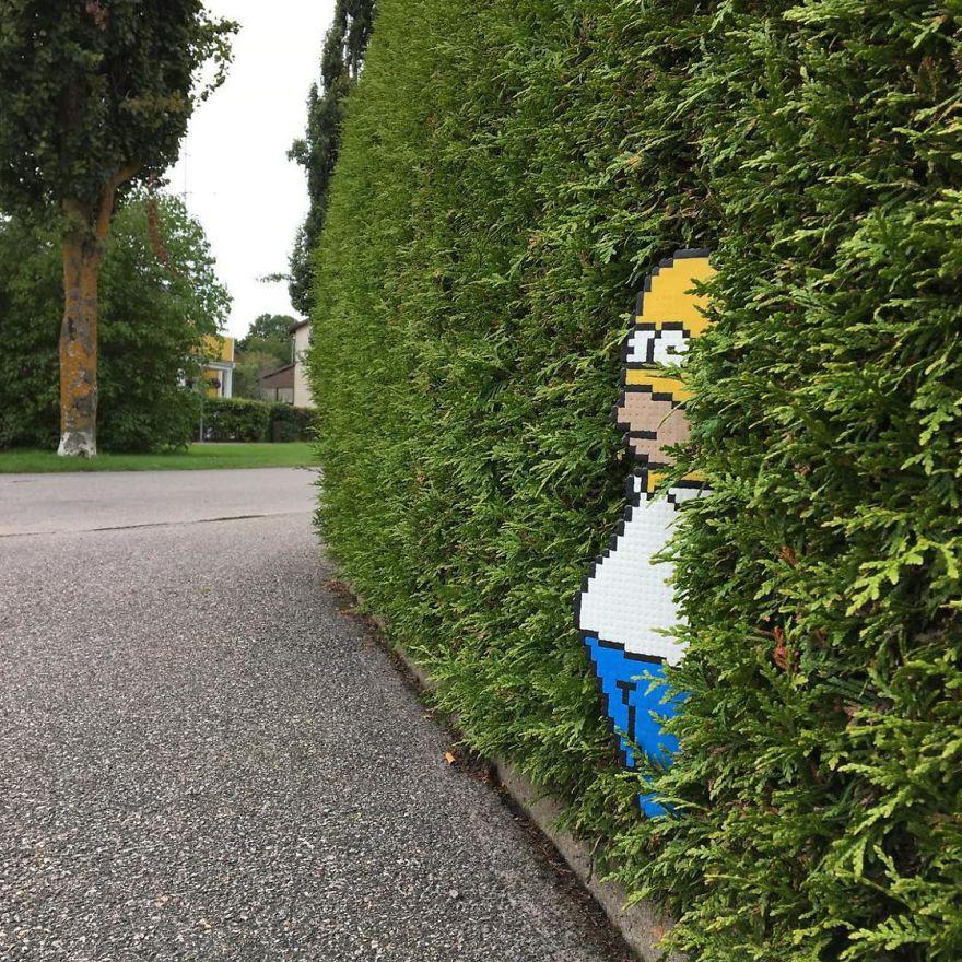 Pixel Street Art