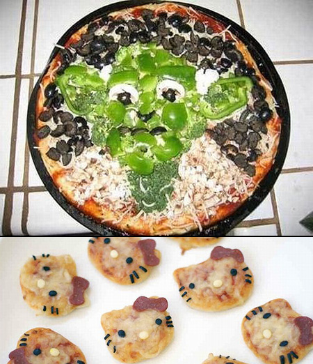 Awesome Pizza Designs for Geeks - TechEBlog