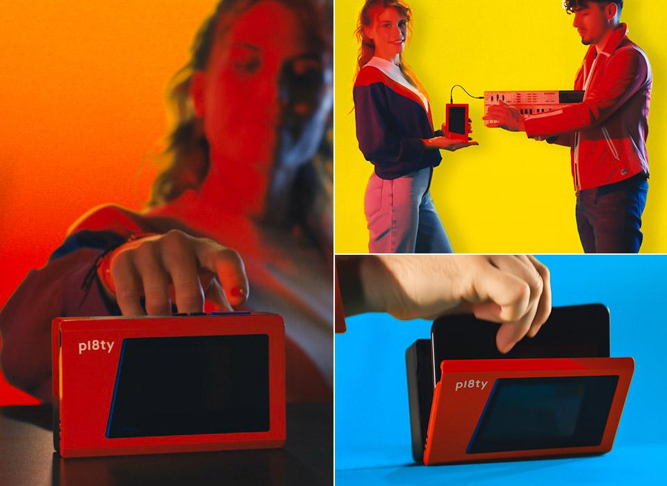 Pl8ty 80s Bluetooth Speaker Cassette Smartphone