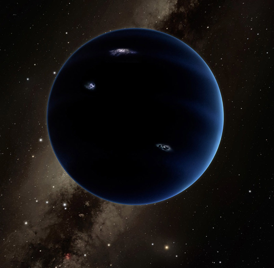 Planet Nine Solar System Orbit
