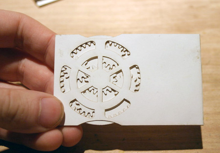Creative Planetary Gear Business Cards Techeblog