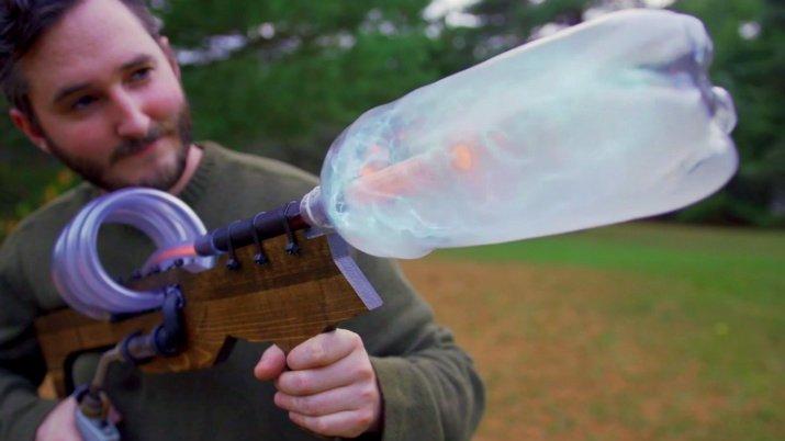 Plasma Bottle Coil Launcher