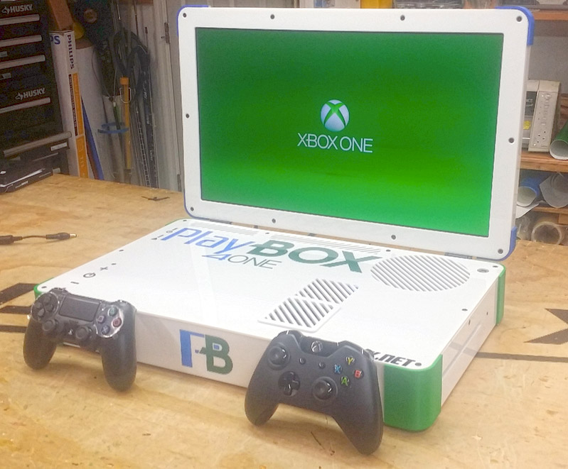 Playbox PS4 Xbox One Laptop