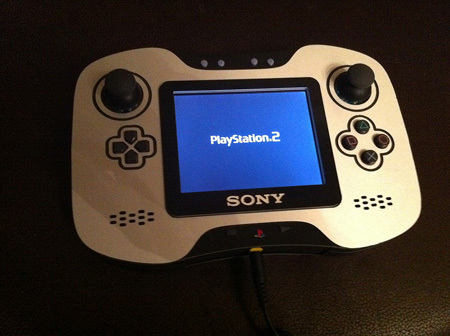 beautiful custom built playstation 2 portable techeblog