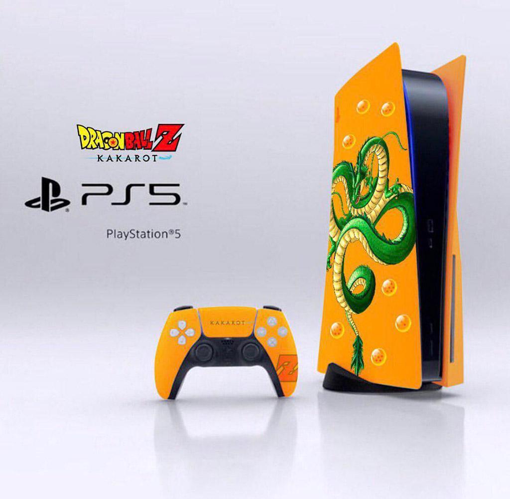 PlayStation 5 Custom Plates