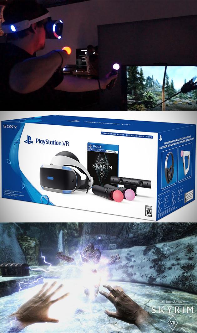 PlayStation VR Skyrim