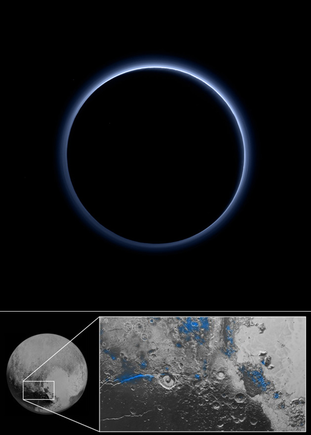 Pluto Has A Heart Love Him Back: NASA Announces That Pluto Has Blue Skies And Surface Water