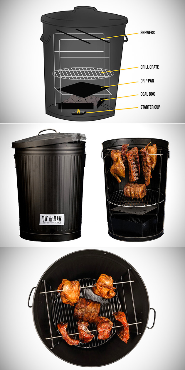 Po'Man Charcoal Grill