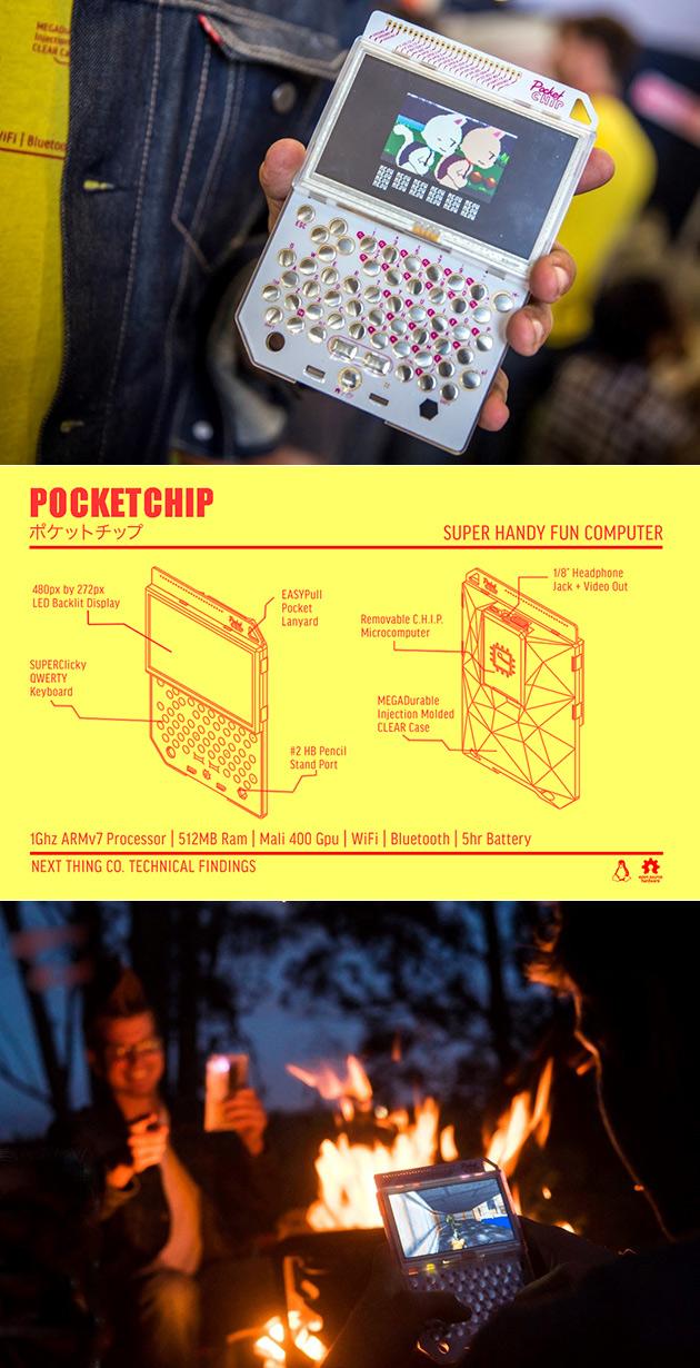 Pocket CHIP Computer