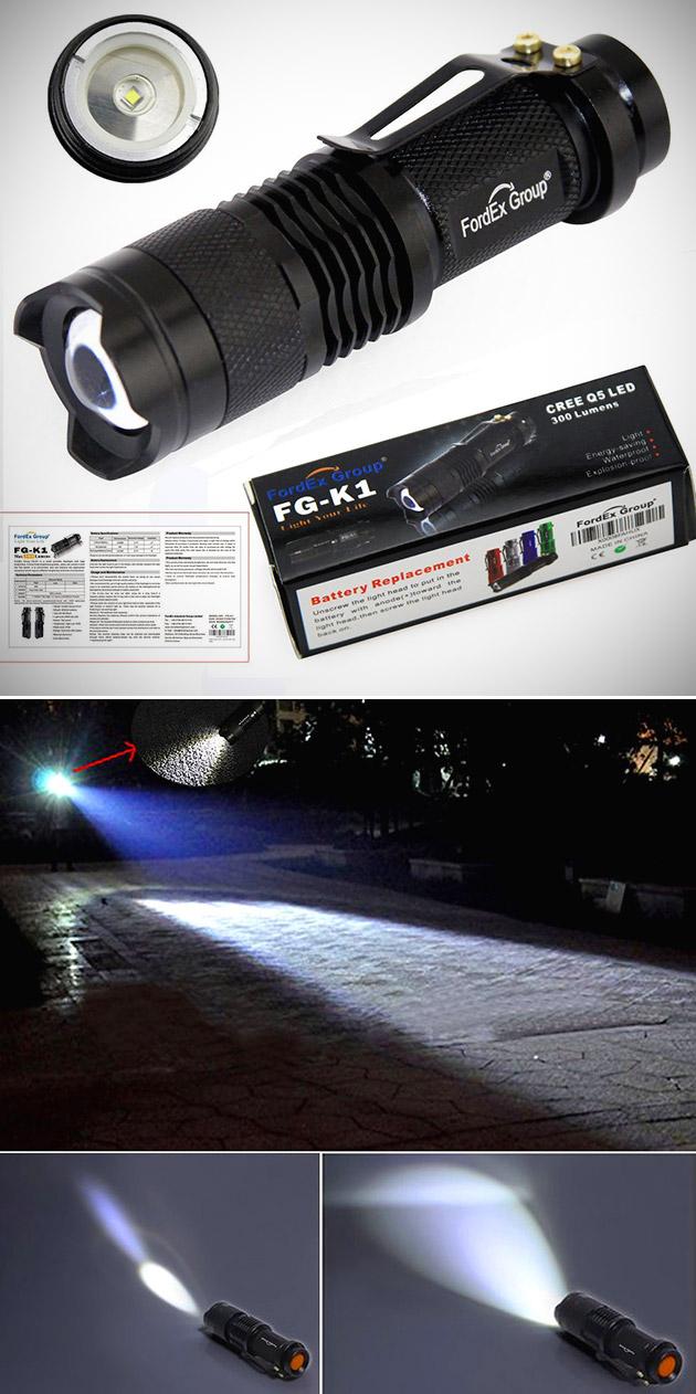 Pocket Flashlight Torch
