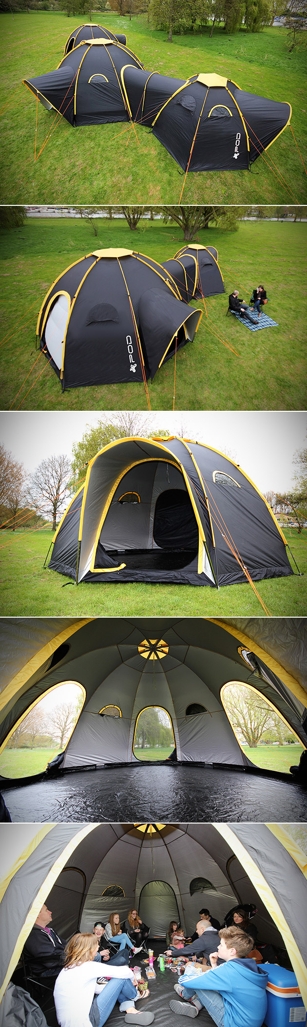 POD Tents & POD Tents are Modular and Can Easily be Connected to Form a Tent ...