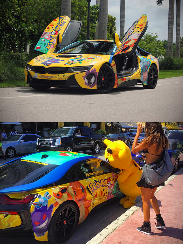 Pokemon BMW i8