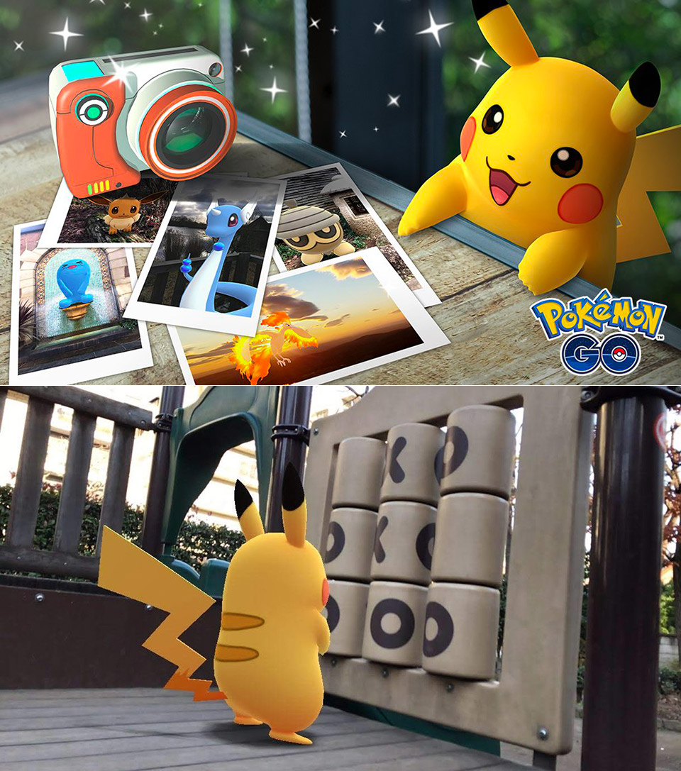 Pokemon Go Snapshot AR+ Mode