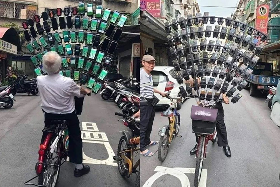 Pokemon Go Grandpa Smartphones Taiwan