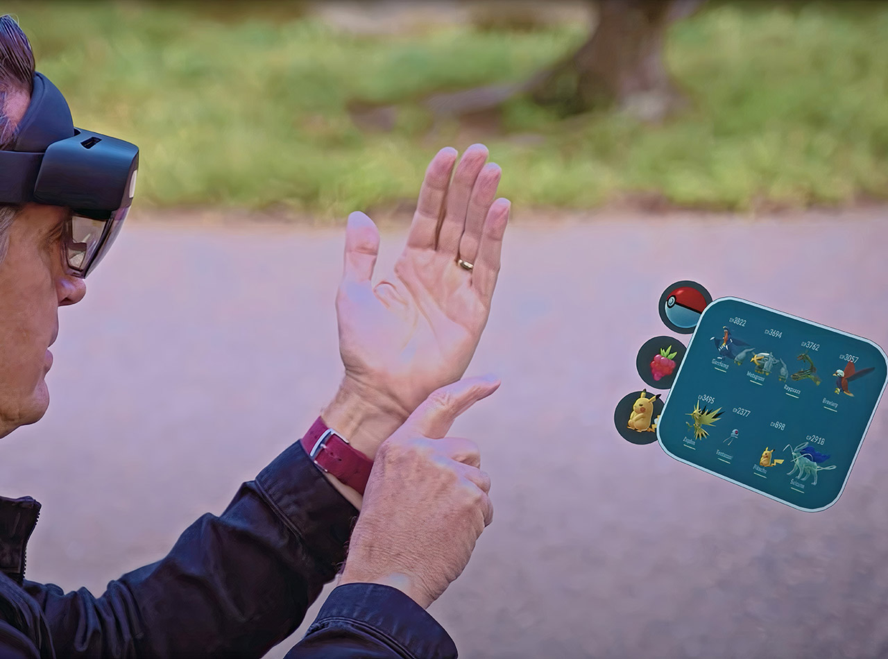 Pokemon Go Microsoft HoloLens