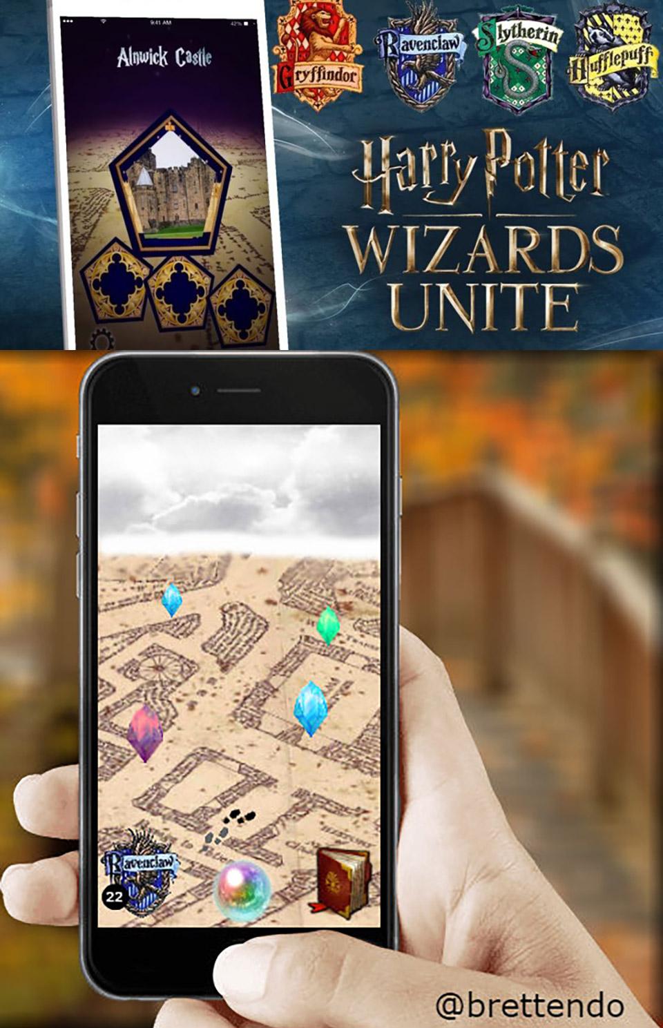 Pokémon GO Ninantic Harry Potter Wizards Unite