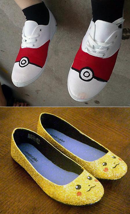 Cool Custom Pokemon Shoes