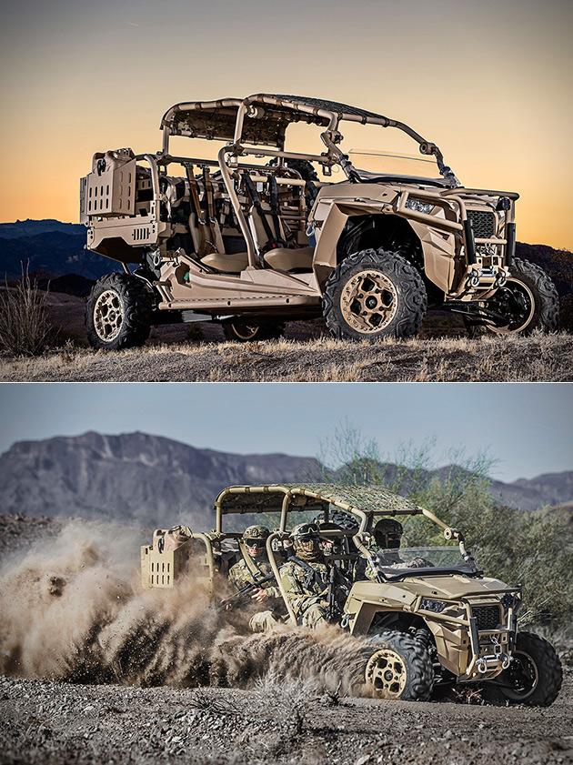 Polaris MRZR-D Military ATV