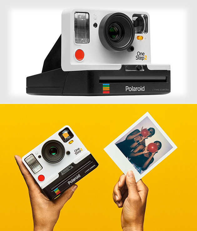 polaroid onestep 2 i type camera revealed uses new instant film techeblog. Black Bedroom Furniture Sets. Home Design Ideas