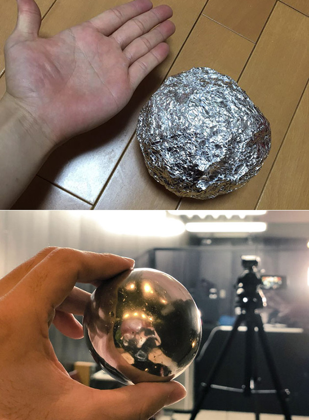 Polished Aluminum Ball