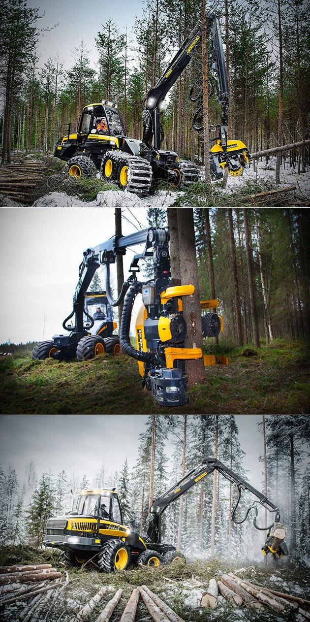 Ponsee Beaver Tree Machine