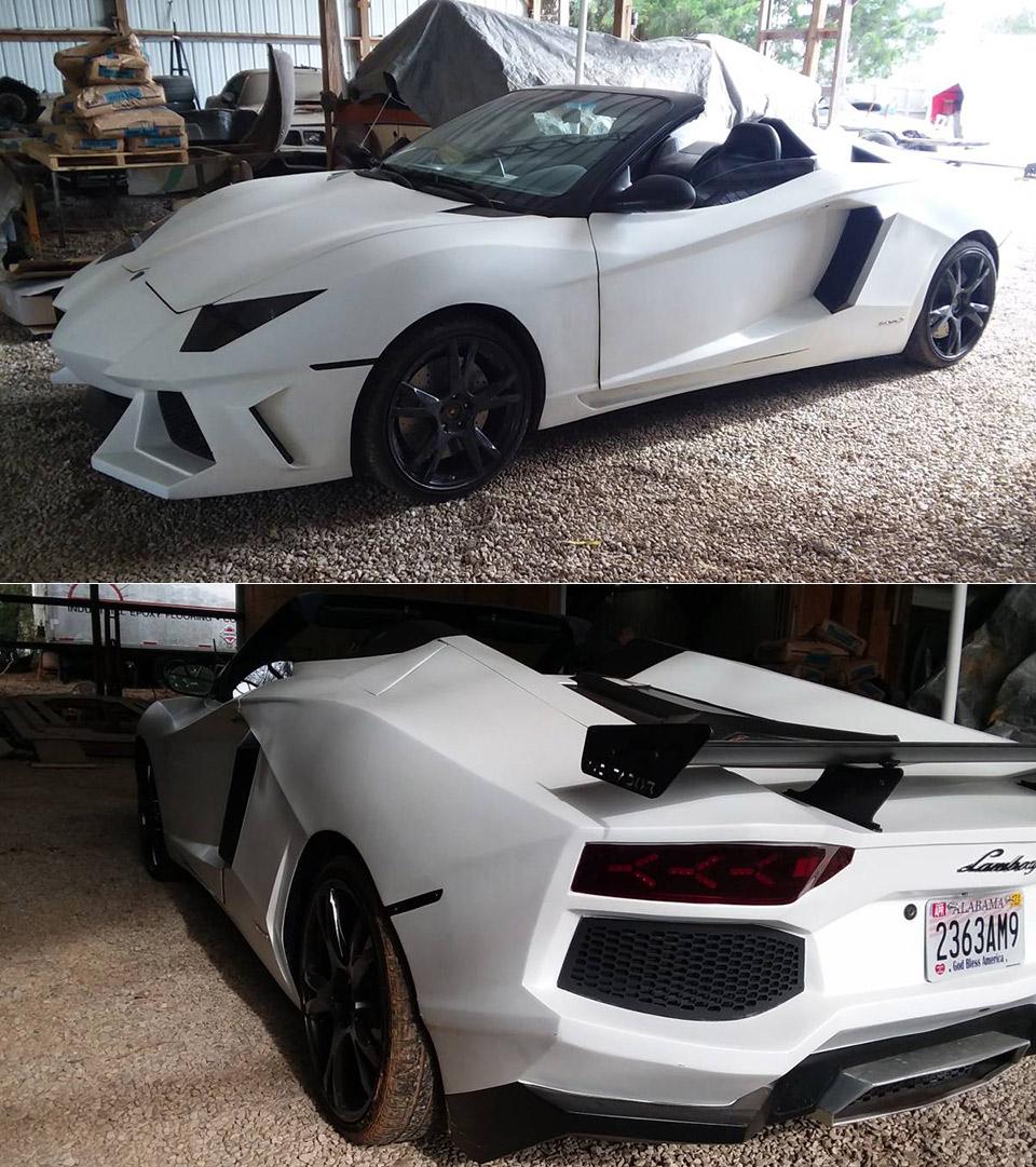 Pontiac Lamborghini Aventador