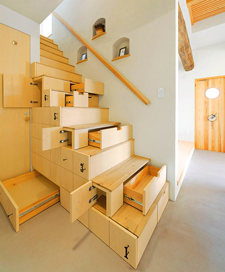 Pop Out stairs
