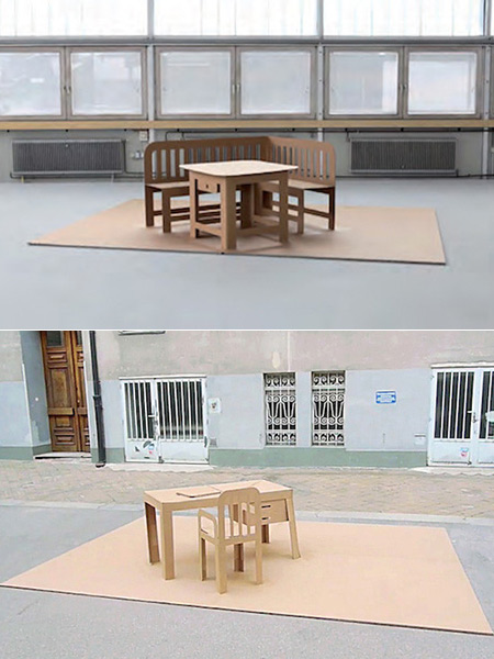 Pop Up Furniture