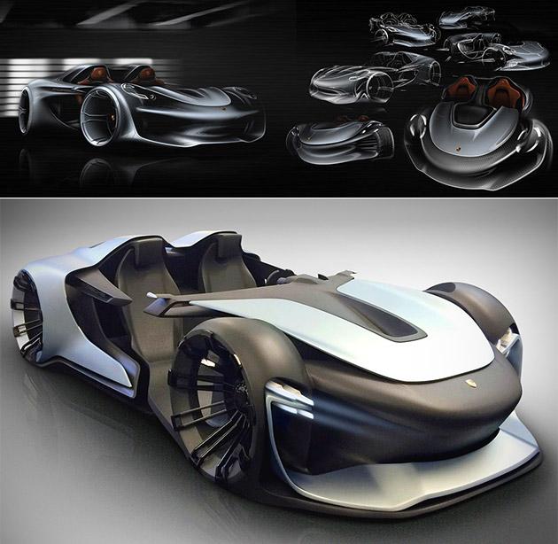 Porsche 911 Vision Exquisite