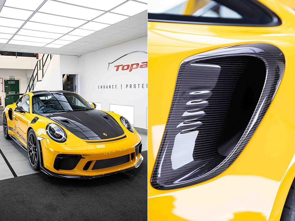 Porsche 911 GT3 RS Paint Protection Detail
