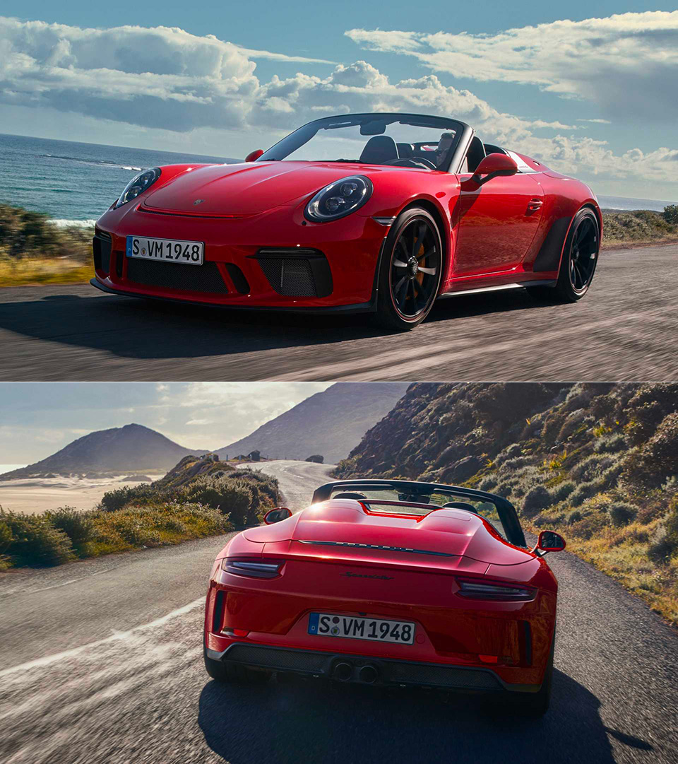 2019 Porsche 911 Speedester Revealed, Has Been Confirmed