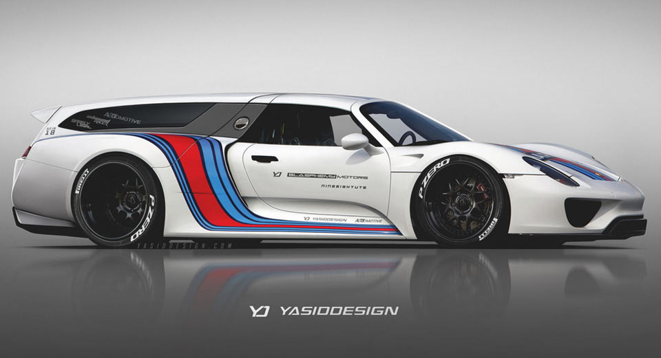 Elegant What The Porsche 918, Ferrari FXX K, McLaren P1 GTR And Bugatti Chiron  Would Look Like As Station Wagons