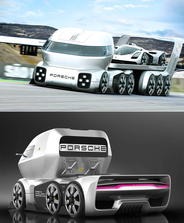Porsche GT Vision Truck
