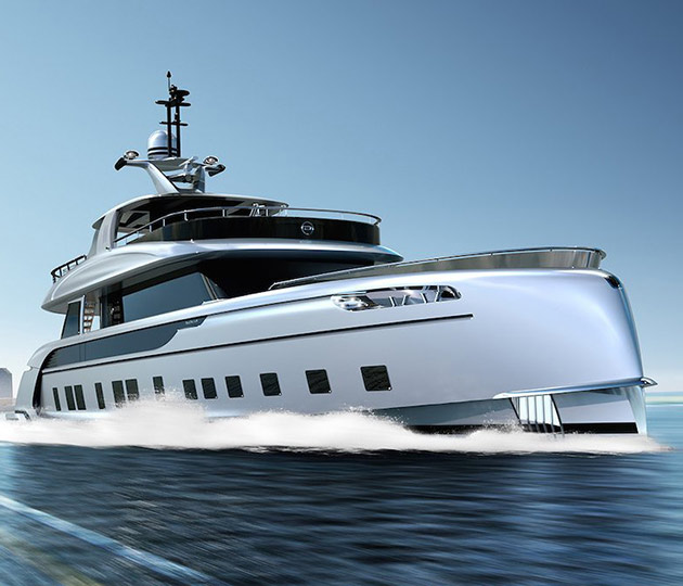 Porche GTT 115 Superyacht