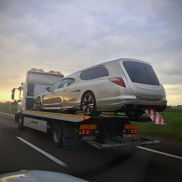Porsche Panamera Hearse
