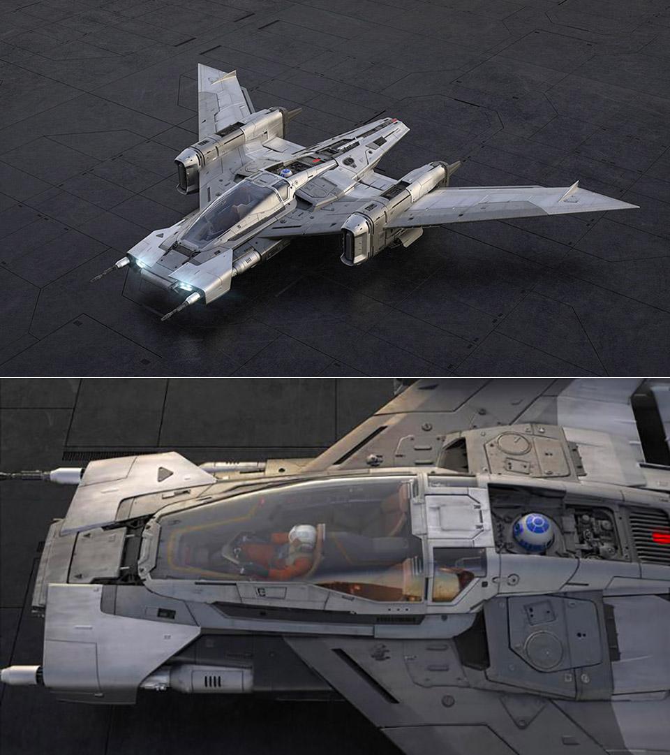 Porsche Star Wars Tri-Wing Taycan