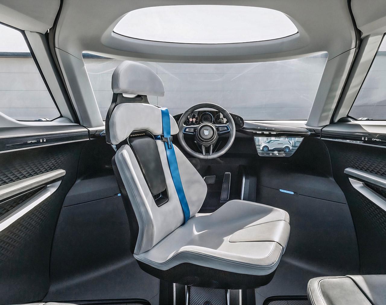 Porsche Vision Renndienst Interior