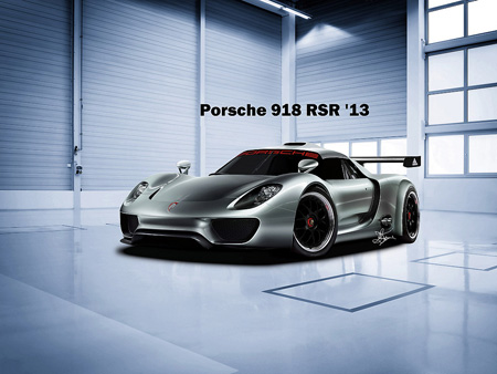amazing porsche 918 rsr racer rendered by 13 year old techeblog. Black Bedroom Furniture Sets. Home Design Ideas