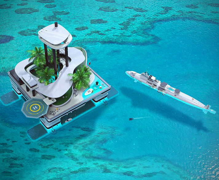 Portable Island