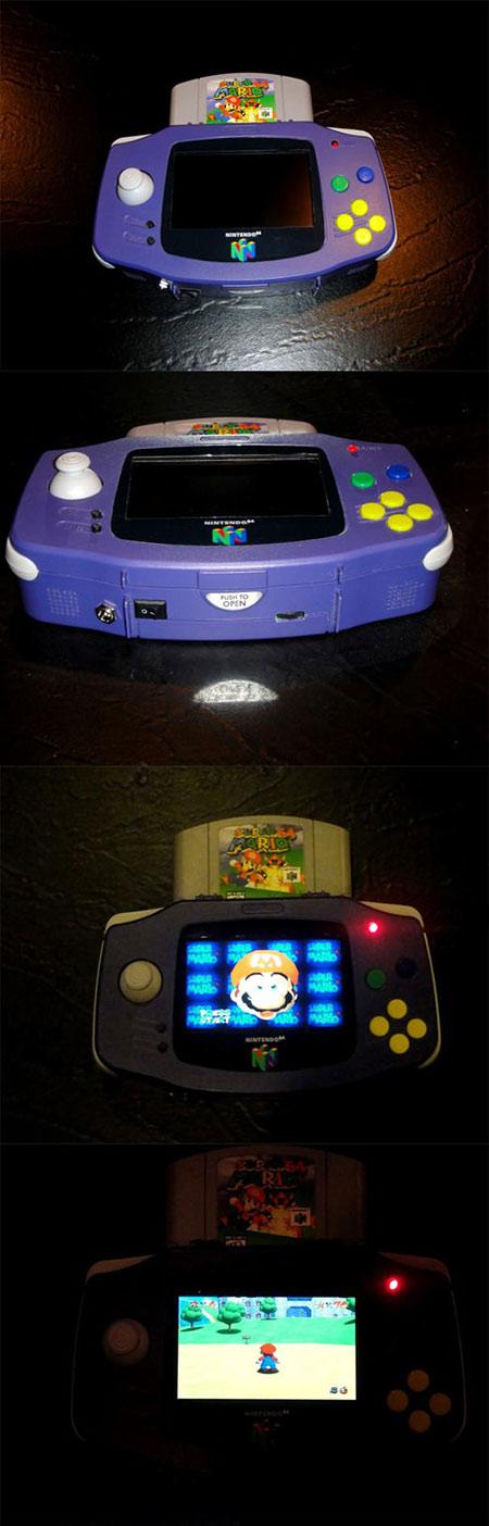 N64 Game Boy Advance Portable N64