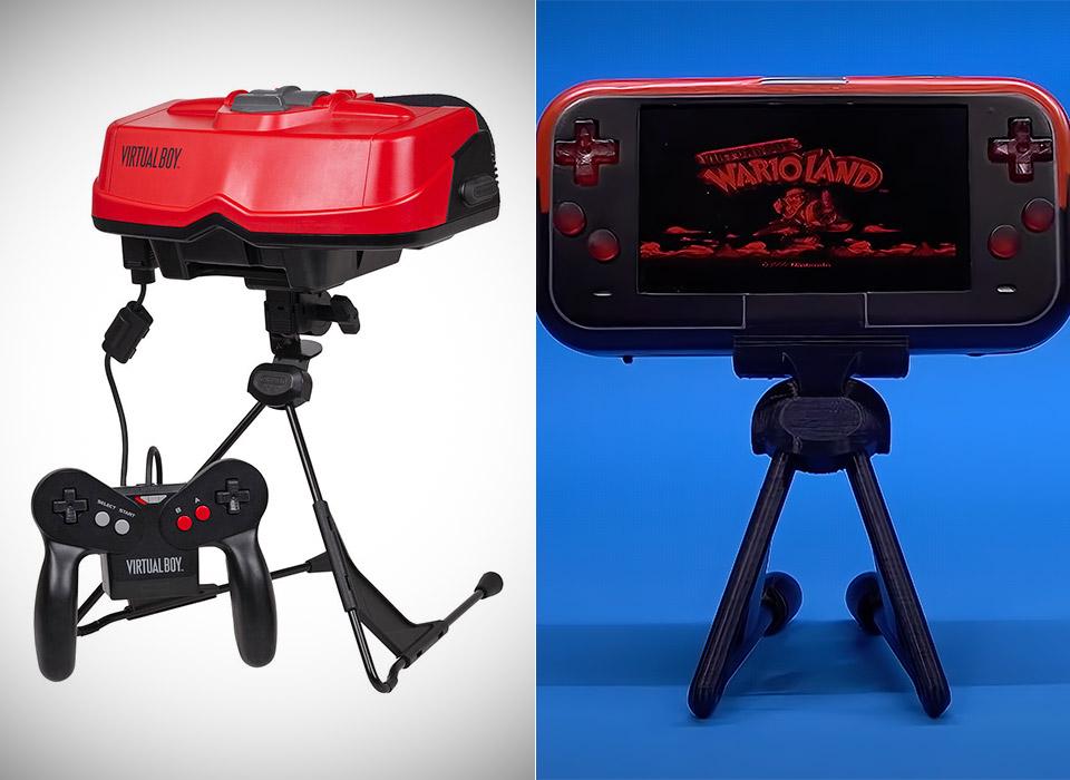 Portable Nintendo Virtual Boy Video Game Console