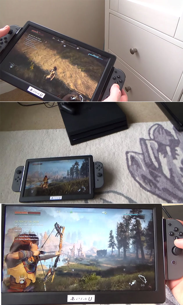 Portable PlayStation 4
