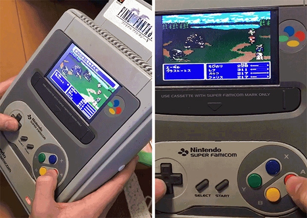 Portable Super Famicom
