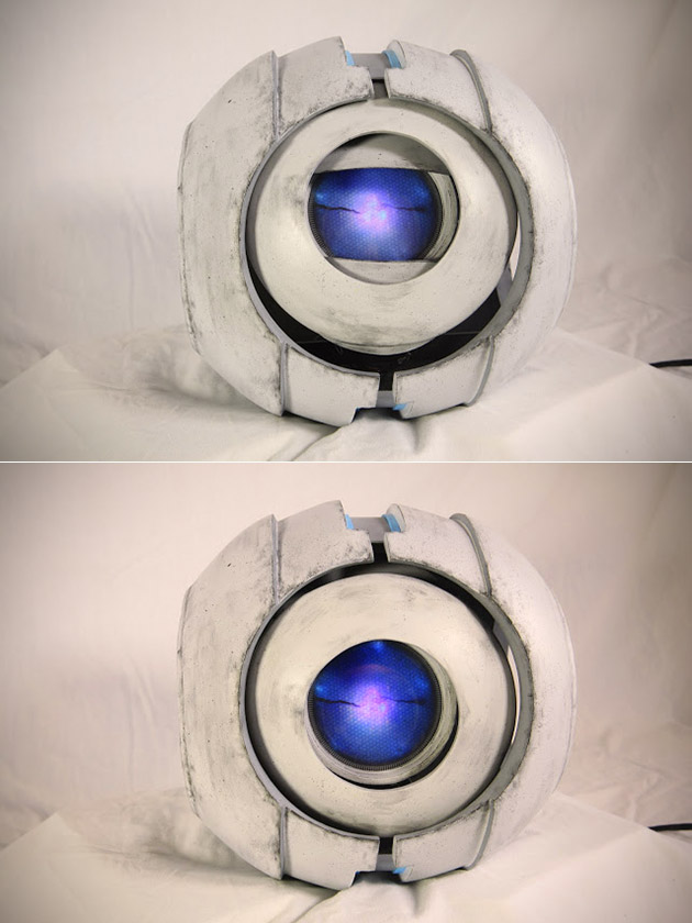Gamer Builds Real-Life Portal Wheatley Robot, Complete with Voice, Movement and Sounds