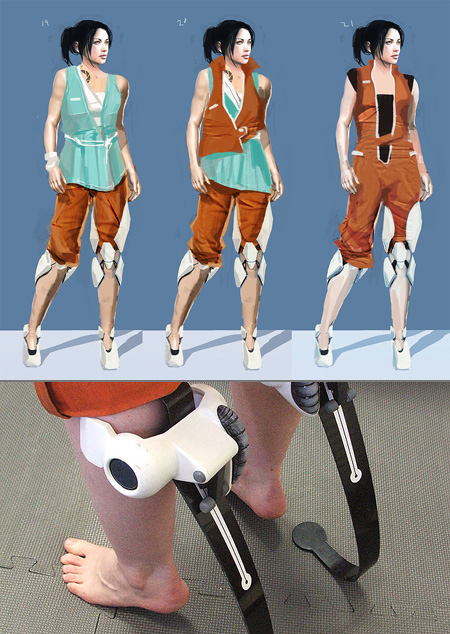 Gamer Recreates Chell S Boots From Portal Techeblog
