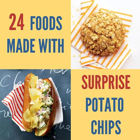 24 Maneiras incomuns e nerds para usar Chips de batata neste fim de semana do dia do trabalho