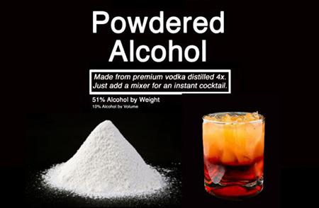 Alcool en poudre (Palcohol) approuvé pour la vente, Will Come dans une variété de saveurs