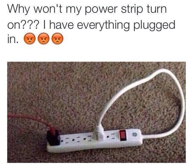 Power Strip Fail