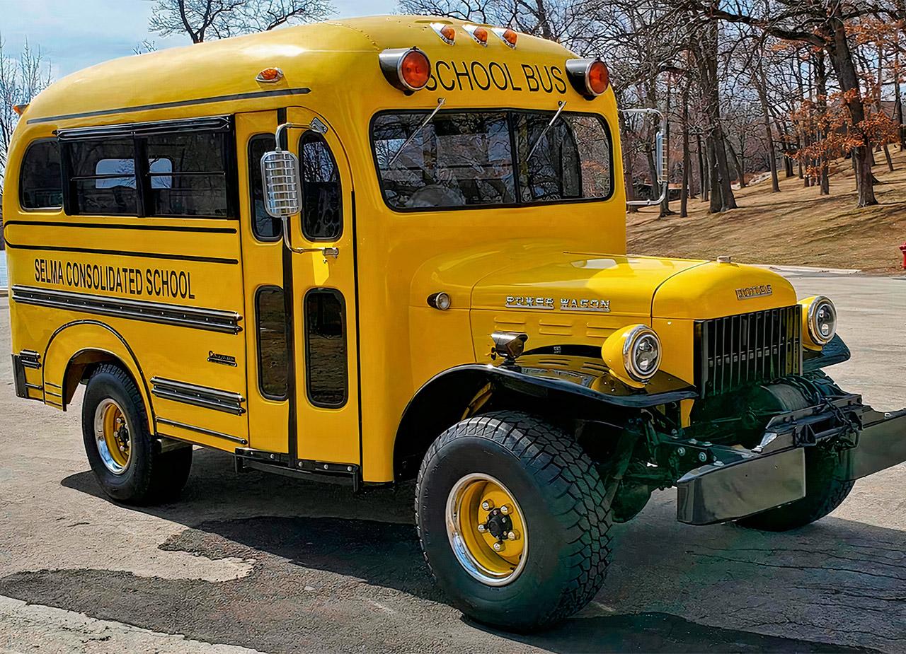 Power Wagon School Bus Dodge Hellcat V8