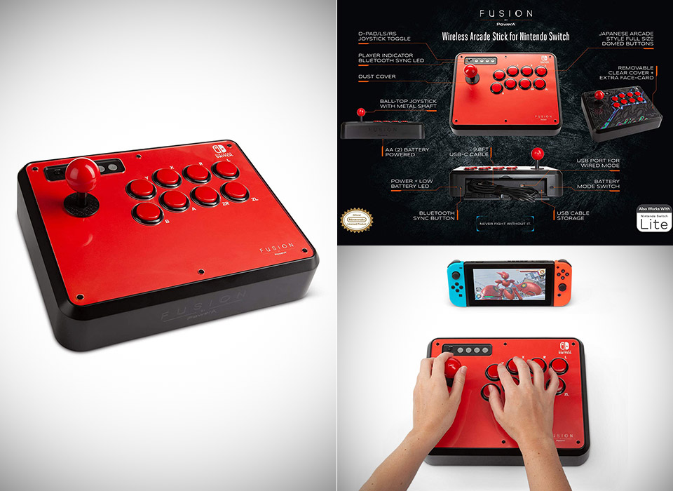 PowerA Fusion Nintendo Switch Wireless Arcade Stick